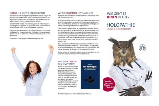 Klientenfolder Holopathie